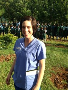 Sierra in Kenya with Project Helping Hands