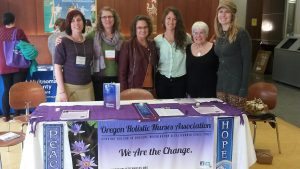 OHNA Board vendor booth at: 2016 Oregon Student Nurses Association Conference